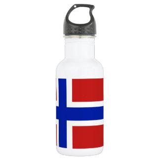 Flag of Norway Scandinavian 532 Ml Water Bottle