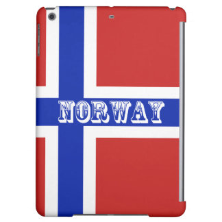 Flag of Norway Scandinavian Cover For iPad Air