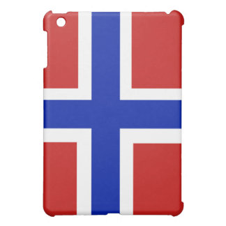 Flag of Norway Scandinavian Cover For The iPad Mini