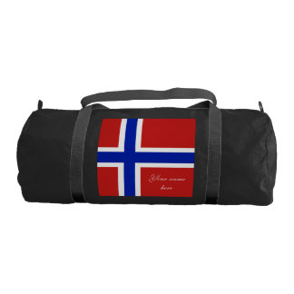 Flag of Norway Scandinavian Gym Bag
