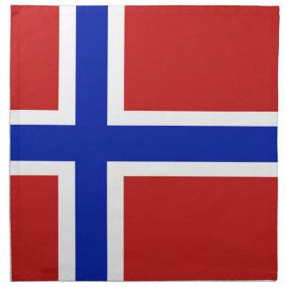 Flag of Norway Scandinavian Napkin