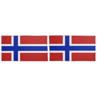 Flag of Norway Scandinavian Pillowcase