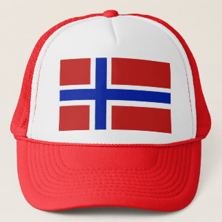 Flag of Norway Scandinavian Trucker Hat