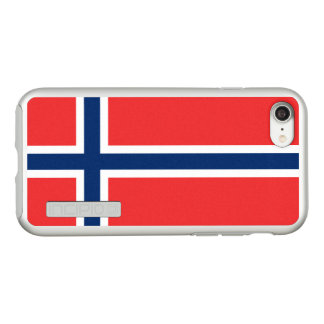Flag of Norway Silver iPhone Case