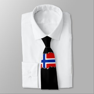 Flag of Norway Tie