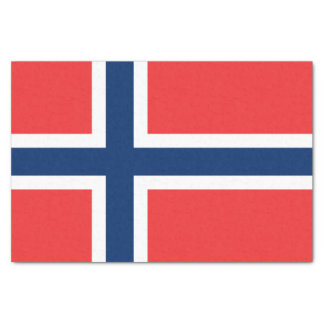 Flag of Norway Tissue Paper
