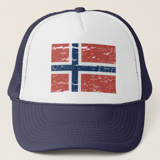FLAG OF NORWAY TRUCKER HAT