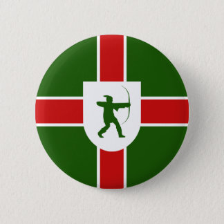 Flag of Nottinghamshire 2 Inch Round Button