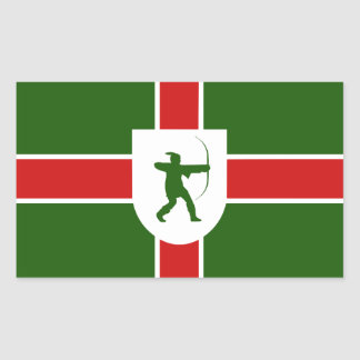 Flag of Nottinghamshire Sticker