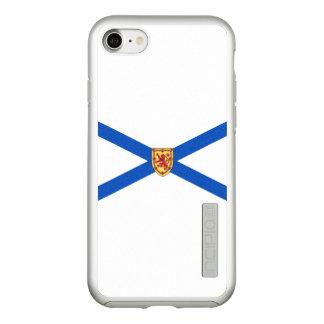 Flag of Nova Scotia Silver iPhone Case