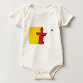 Flag of Nunavut Baby Bodysuit