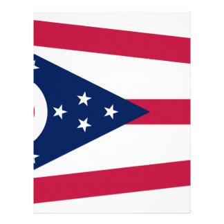 Flag Of Ohio Letterhead