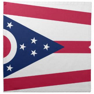 Flag Of Ohio Napkin