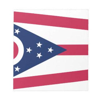Flag Of Ohio Notepad
