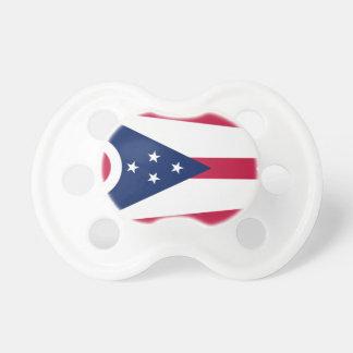 Flag Of Ohio Pacifier