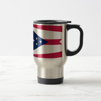 Flag Of Ohio Travel Mug