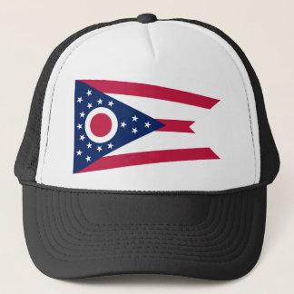 Flag Of Ohio Trucker Hat