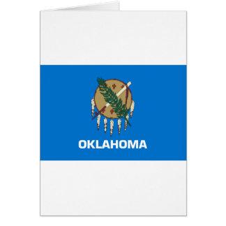 Flag Of Oklahoma Card