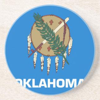 Flag Of Oklahoma Coaster