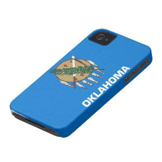 Flag of Oklahoma iPhone 4 Case
