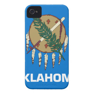 Flag Of Oklahoma iPhone 4 Case-Mate Case