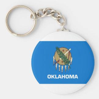 Flag Of Oklahoma Keychain