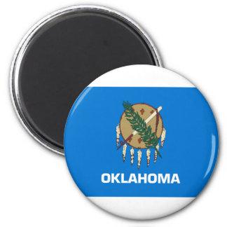 Flag Of Oklahoma Magnet