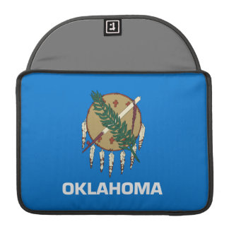 Flag of Oklahoma Sleeve For MacBooks