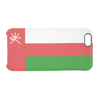Flag of Oman Clear iPhone Case