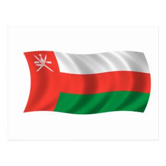 Flag of Oman Postcard