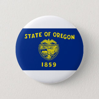 Flag Of Oregon 2 Inch Round Button