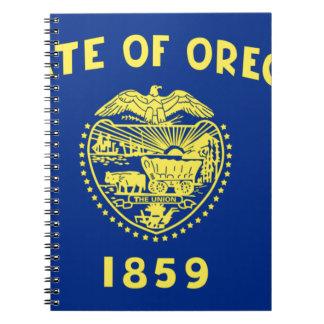 Flag Of Oregon Notebook