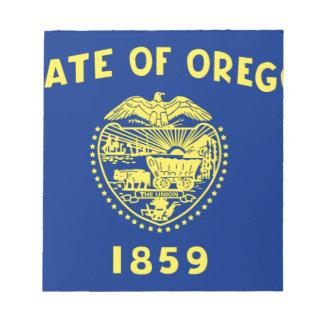 Flag Of Oregon Notepad
