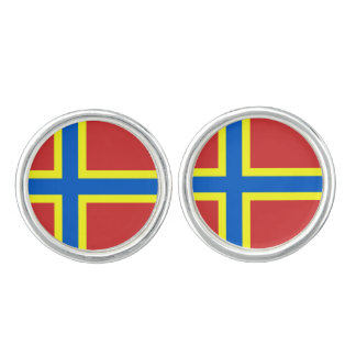 Flag of Orkney Cufflinks