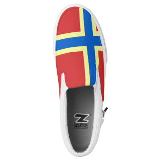 Flag of Orkney Slip-On Sneakers