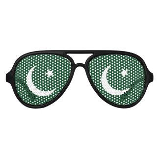 Flag of Pakistan Aviator Sunglasses
