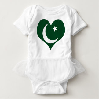 Flag of Pakistan Baby Bodysuit