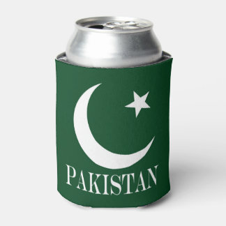 Flag of Pakistan Can Cooler