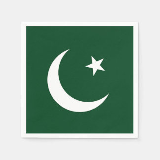 Flag of Pakistan Disposable Napkins