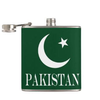 Flag of Pakistan Hip Flask