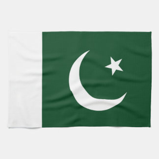 Flag of Pakistan Kitchen Towel