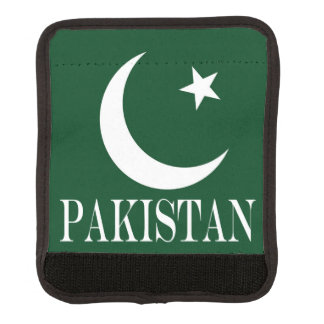 Flag of Pakistan Luggage Handle Wrap