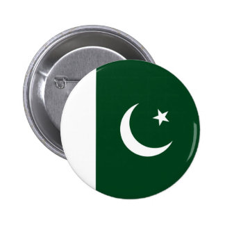 Flag of Pakistan on Pin / Button Badge
