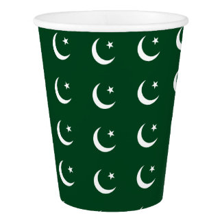 Flag of Pakistan Paper Cup
