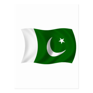 Flag of Pakistan Postcard