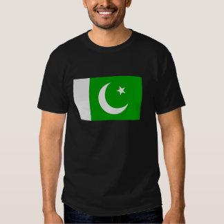 Flag of Pakistan T Shirt