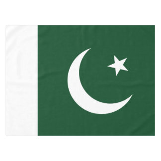 Flag of Pakistan Tablecloth