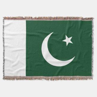 Flag of Pakistan Throw Blanket