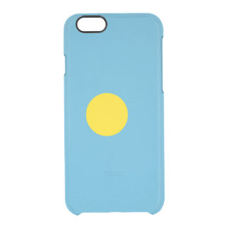 Flag of Palau Clear iPhone Case