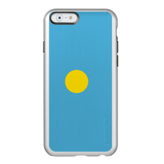 Flag of Palau Silver iPhone Case